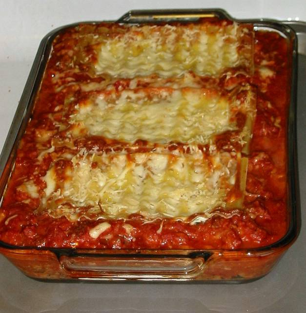 Meat Lasagna - Recipe File - Cooking For Engineers