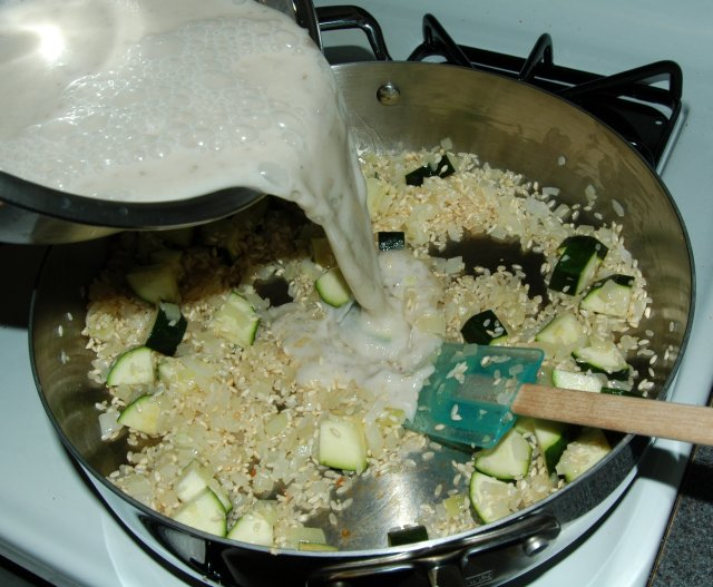 Oven baked chicken and rice recipe file cooking for engineers pour the cream of mushroom mixture into the pan and stir to combine if using a separate pan for baking pour the cream of mushroom mixture into the pan forumfinder Image collections