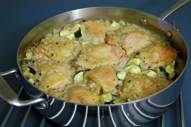 Oven Baked Chicken And Rice Recipe File Cooking For