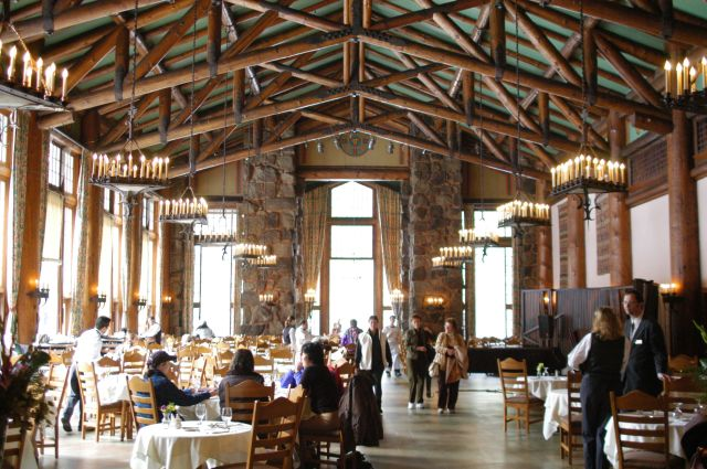 Ahwahnee Hotel Kitchen Yosemite California Dining Out