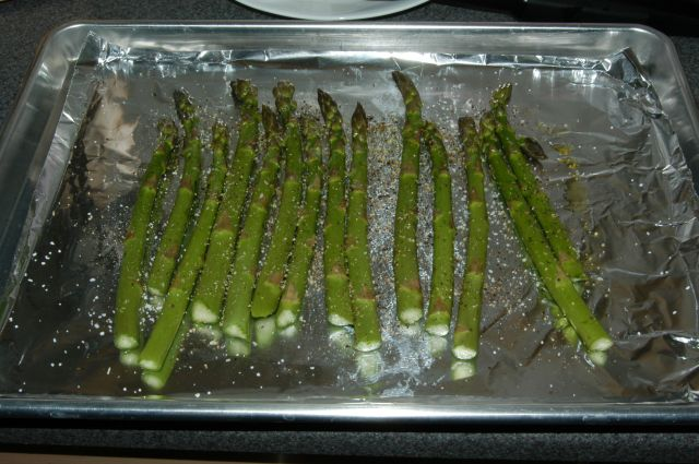 Roasted Asparagus Spears Recipe File Cooking For Engineers