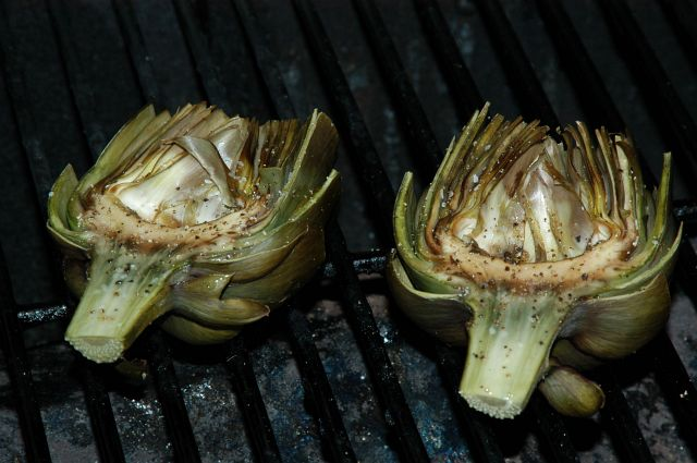 Grilled Artichokes - Recipe File - Cooking For Engineers