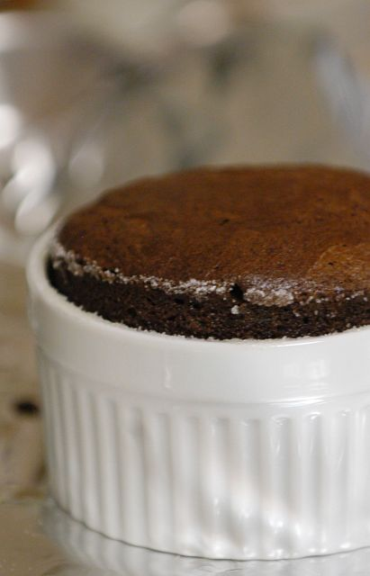 Dark Chocolate-Lime Souffles Recipes — Dishmaps