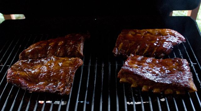 Spare Ribs Grillen Gasgrill : Gas grill ribs on gas grill