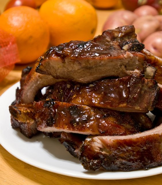 Barbecue Pork Ribs (Baby Back or Spare) - Recipe File - Cooking For ...