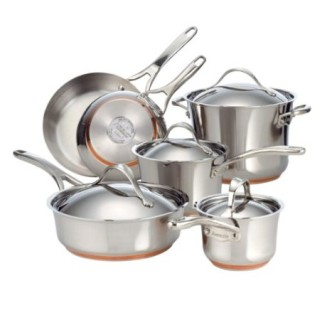 Anolon Nouvelle Copper Stainless Steel Cookware Set 2012