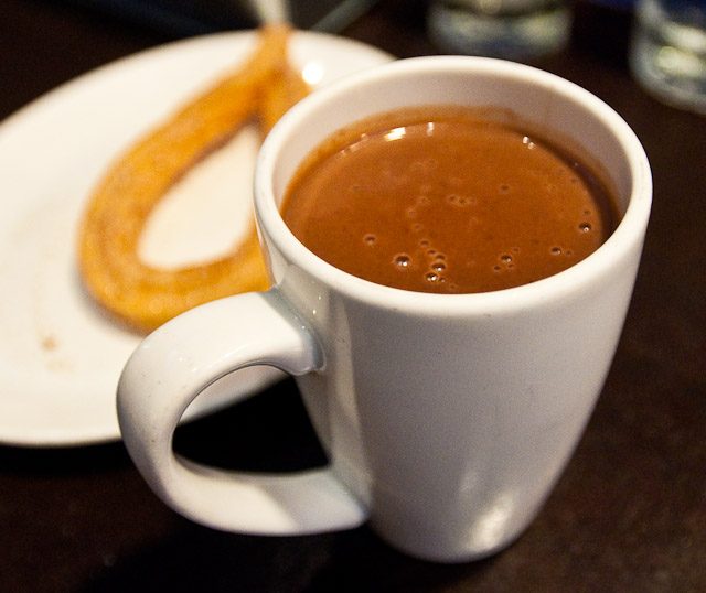 XOCO - Mexico City Thick (Champurrado) Hot Chocolate with Churro